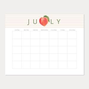 fresh fruit july