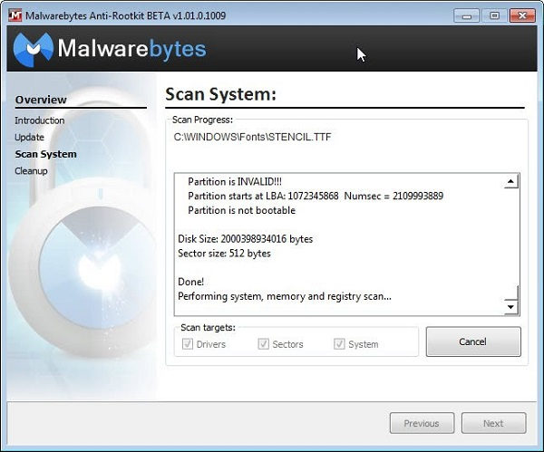 Malwarebytes Anti-Rootkit Beta 32-64 Bit Download
