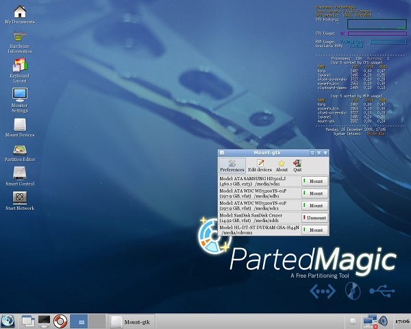 Parted Magic Download 32-64Bit