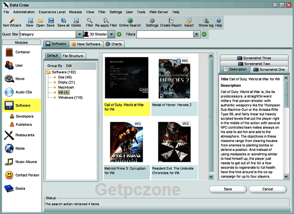 Data Crow 32-64 bit download free