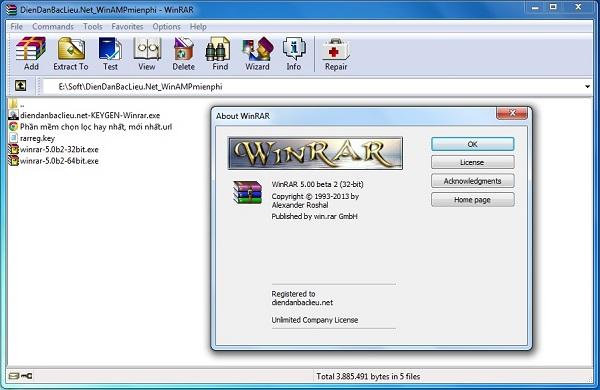 WinRAR 5.70 Final Download 32-64 Bit