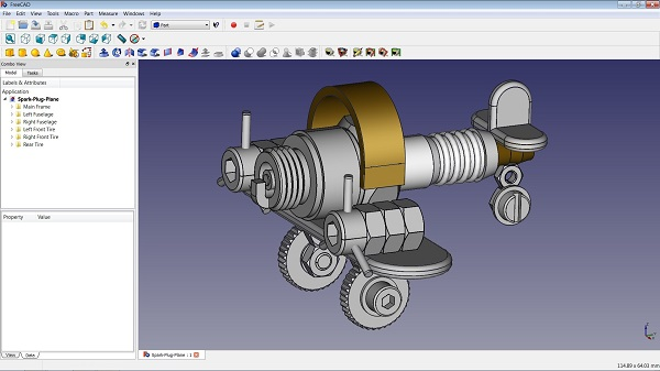 FreeCAD Portable Download 32-64 Bit