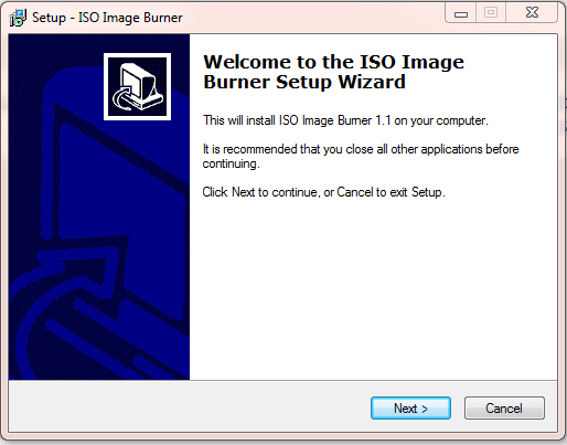 ISO Image Burner 1.1 Download 32-64 Bit