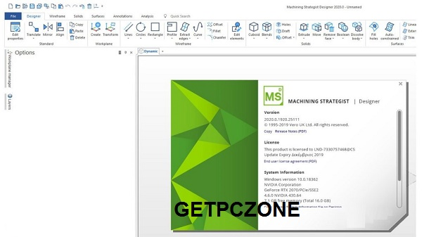 Free Download MACHINING STRATEGIST with Designer 2020