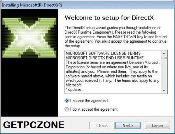 DirectX 9, 10, 11, 12 Offline Installer Free Download