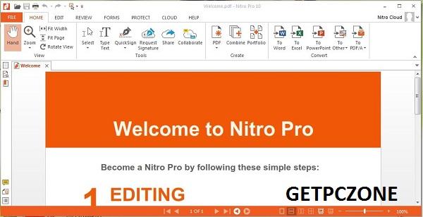 Download Free Nitro Pro Enterprise 13.8