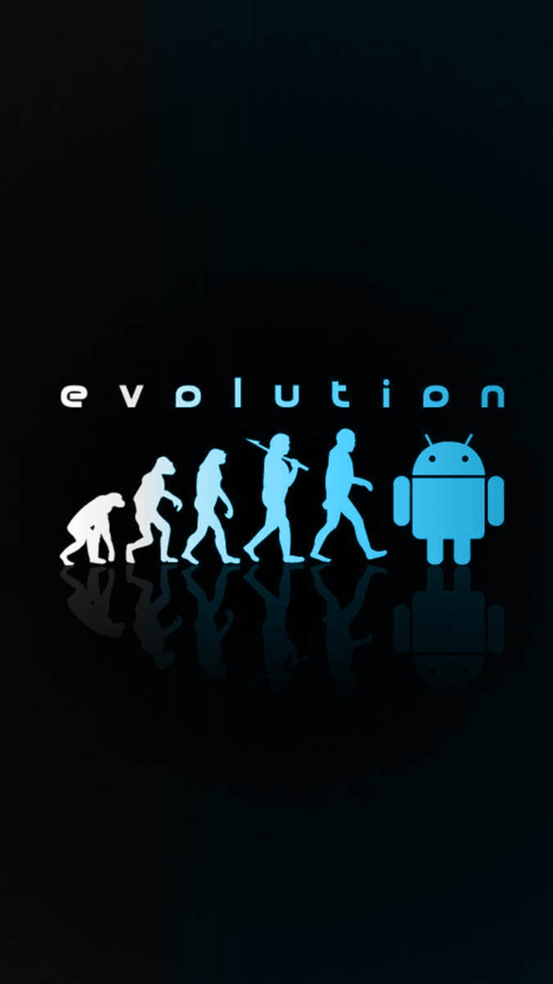 android evolution smartphone wallpapers