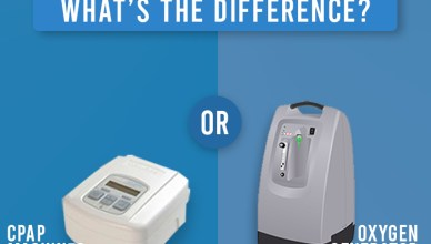 Different between CPAP Machine and Oxygen Concentrator