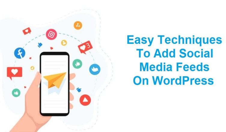Add Social Media Feeds