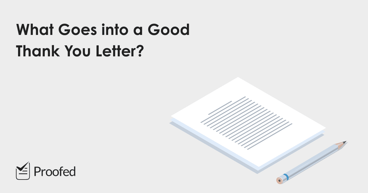 5 Top Tips on How to Write a Thank You Letter or Note
