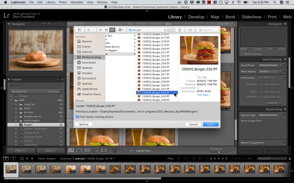 Reconnecting Missing And Folders In Lightroom