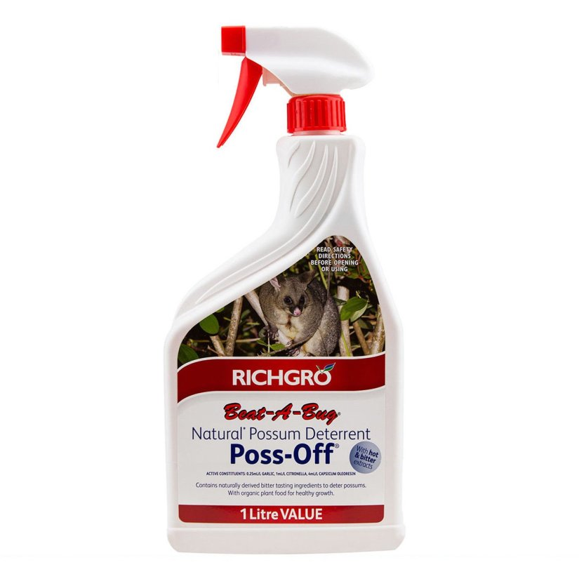 Several chemical repellents are on the market, generally in the form of granules or a spray. They use odor to keep opossums out and smell as bad to people as they do to animals. Because of this, they are best used at the perimeter of your yard and away from your house.