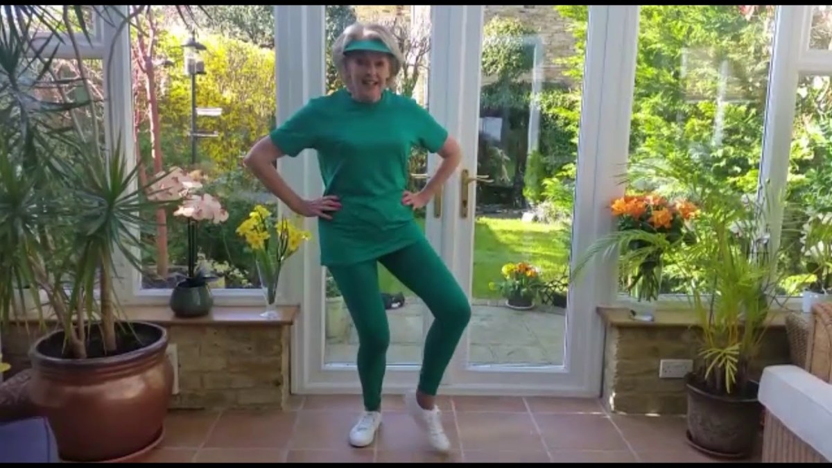 Green Goddess - Aerobic Exercise - Keep our bodies moving