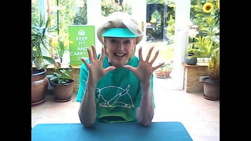 Hands and wrist exercises with Diana Moran