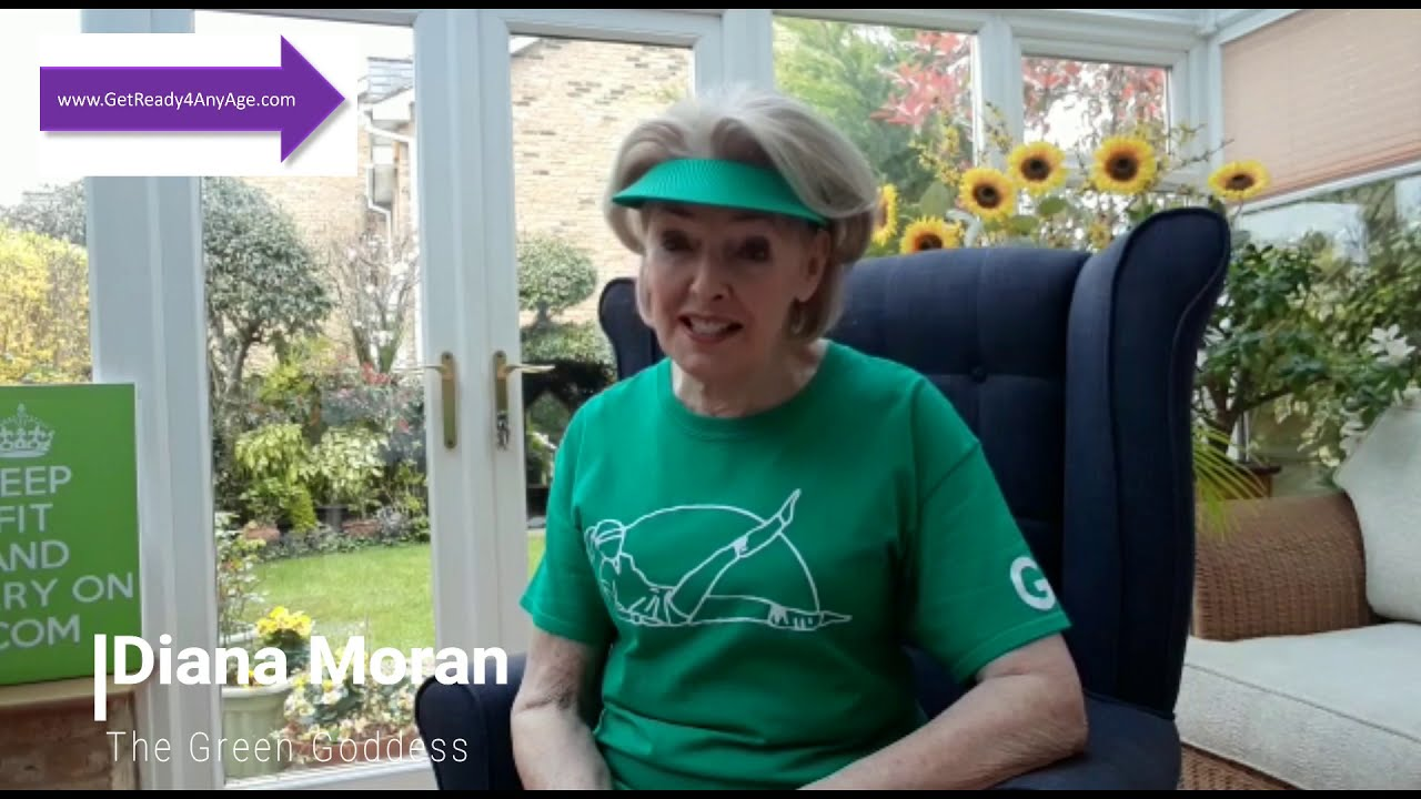 Green Goddess  special message and workout for the Purple Angels Dementia Charity