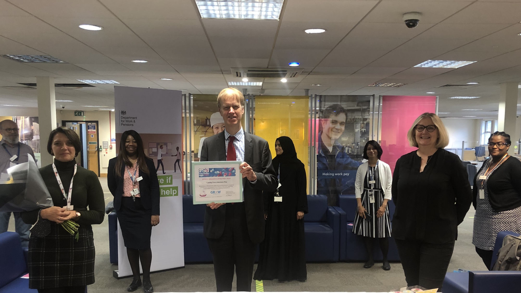 ERSA Jobcentre of the Year 2020