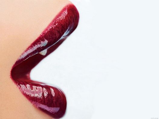 Candy Apple Red Lipstick