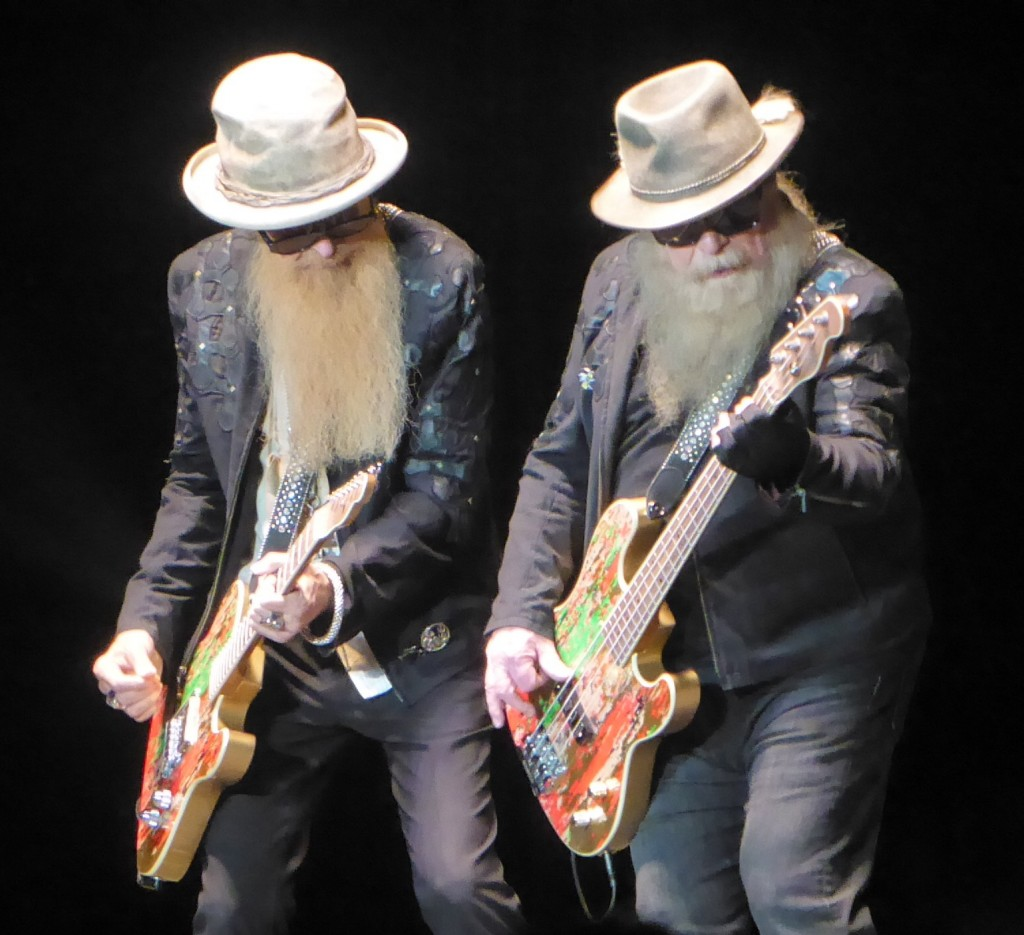gig review zz top