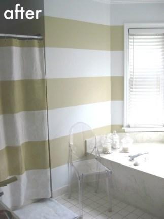 """hiding"" the shower curtain"