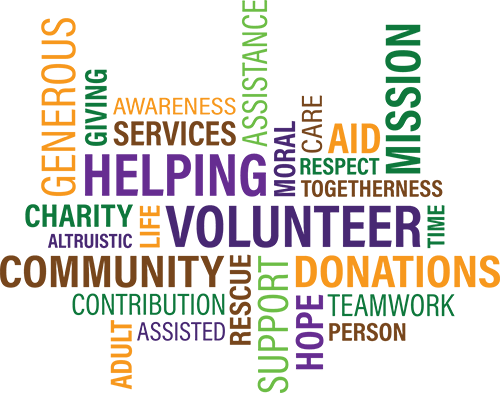 volunteering and charity