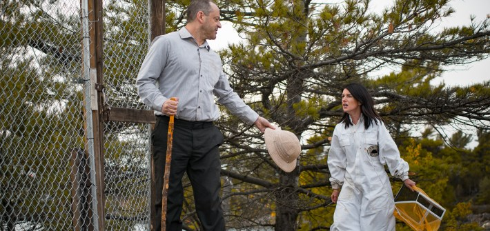 Shenae Grimes and Gil Bellows in BLOOD HONEY