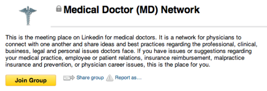 LinkedIn-Group 9 Ways to Market Your Medical or Dental Practice With LinkedIn