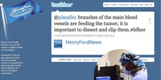 Henry-ford Benefits of Utilizing Social Media in the Health Care Industry