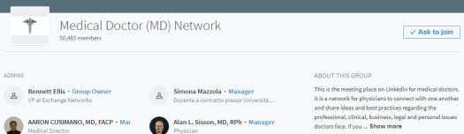 LinkedIn-group 12 Ways to Market Your Medical or Dental Practice With LinkedIn