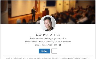 LinkedIn-profile 12 Ways to Market Your Medical or Dental Practice With LinkedIn