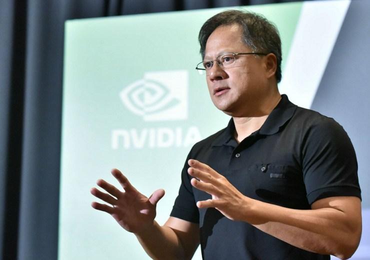 Nvidia Placi video CEO