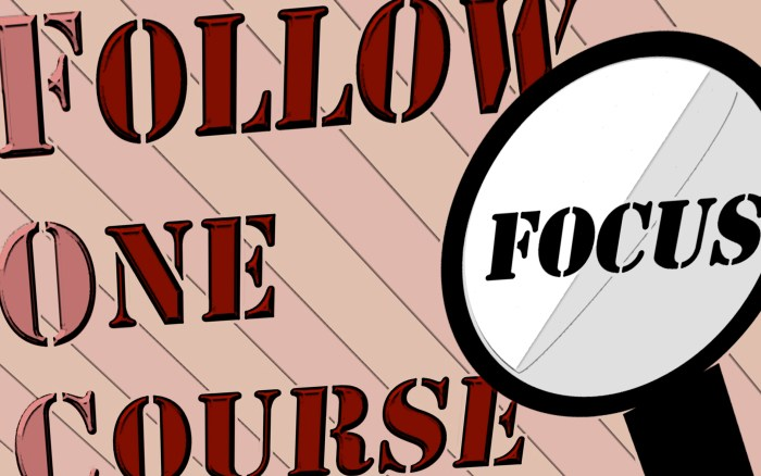 Get Results: FOCUS follow one course until successful