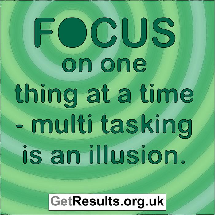 Get Results: focus