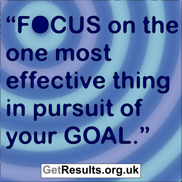 Get Results: focus