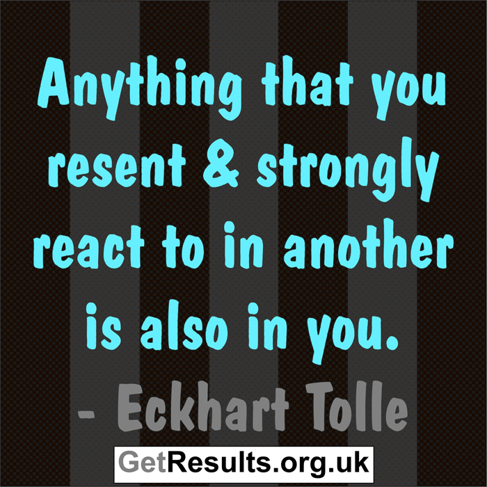 Get Results: Eckhart Tolle quotes