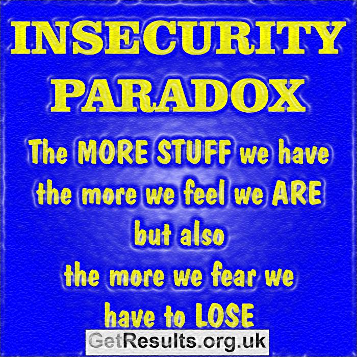 Get Results: insecurity paradox