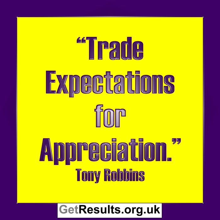 Get Results: appreciation