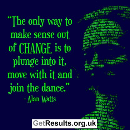 Get Results: plunge into change