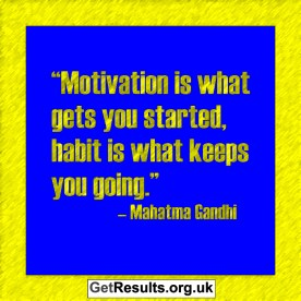 Get Results: motivations and habits