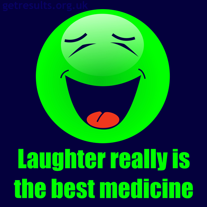 Get Results: laughter is the best medicine