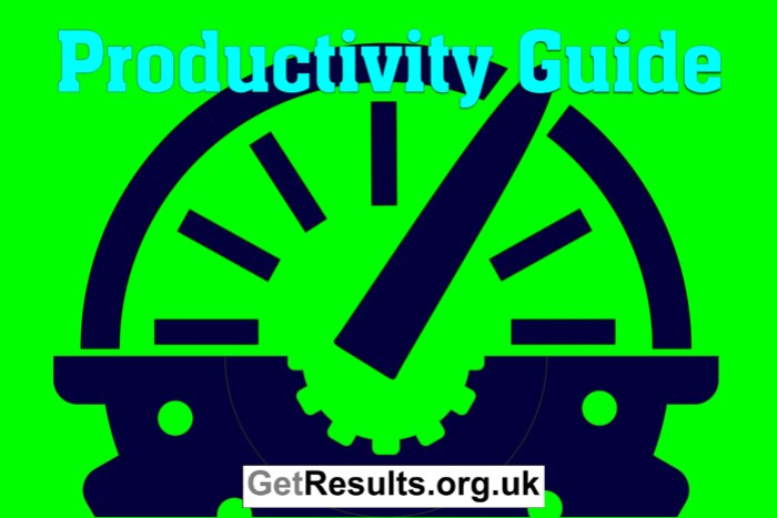 Get Lasting Results: Productivity guide