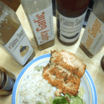 Saucey Grilled Salmon
