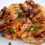 Spicy Grilled Chicken Thighs