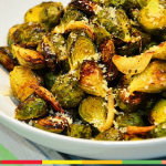 Parmesan Savory Brussels Sprouts