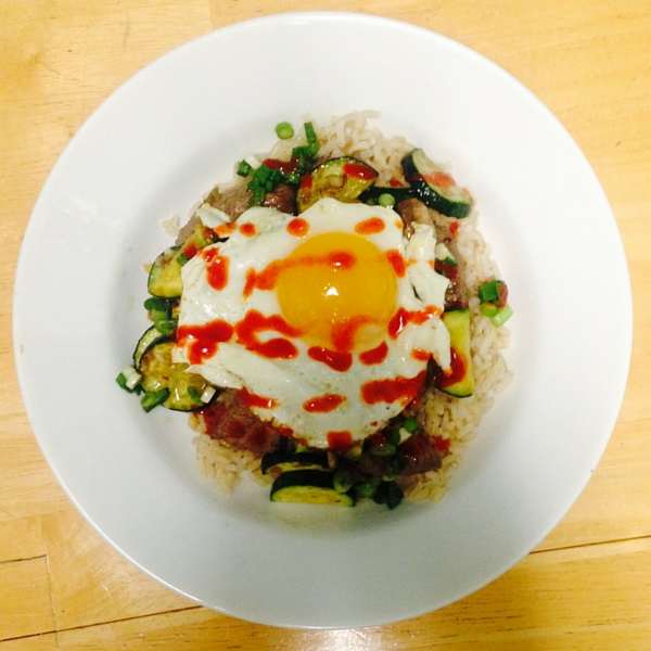Steak bibimbap recipe