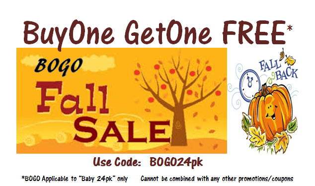 It's that time –  BOGO Fall Sale!