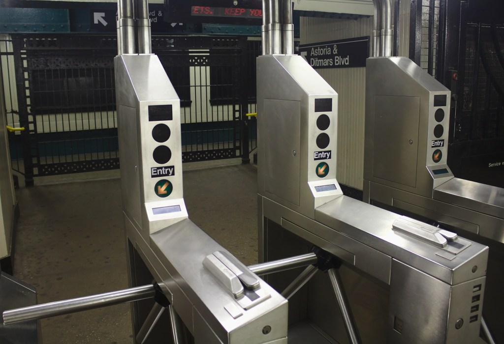 Use your phone to pay for your NYC subway ticket