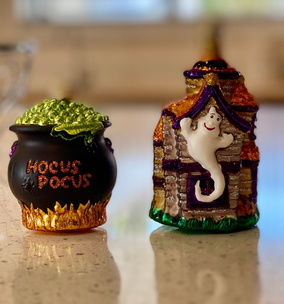 Halloween and fall ornaments