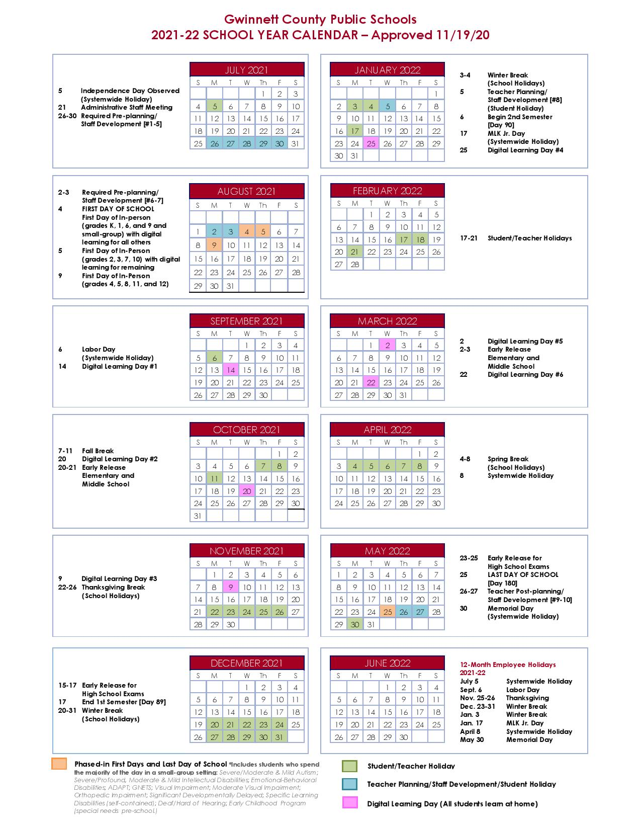 Gwinnett County Schools Calendar 2022 23.Divqrh0j0oqsam