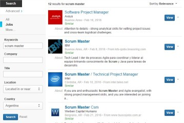 Scrum Master Jobs Argentina