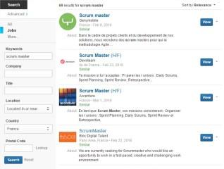 Scrum Master Jobs France